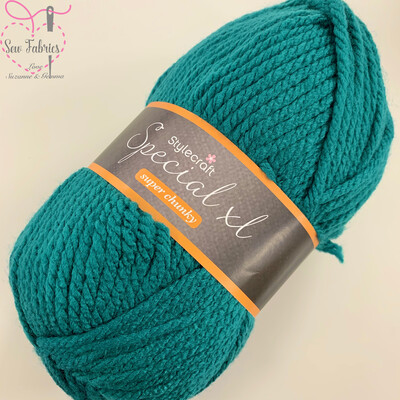 Stylecraft Special XL Super Chunky 100% Premium Acrylic Wool - Teal  Buy More Than 1 Ball & Get 30% Off With Code STYLE30