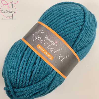 Stylecraft Special XL Super Chunky 100% Premium Acrylic Wool - Petrol  Buy More Than 1 Ball & Get 30% Off With Code STYLE30