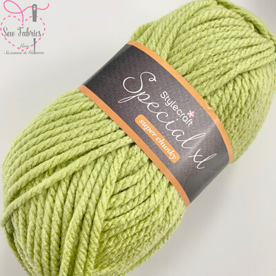 Stylecraft Special XL Super Chunky 100% Premium Acrylic Wool - Pistachio  Buy More Than 1 Ball & Get 30% Off With Code STYLE30