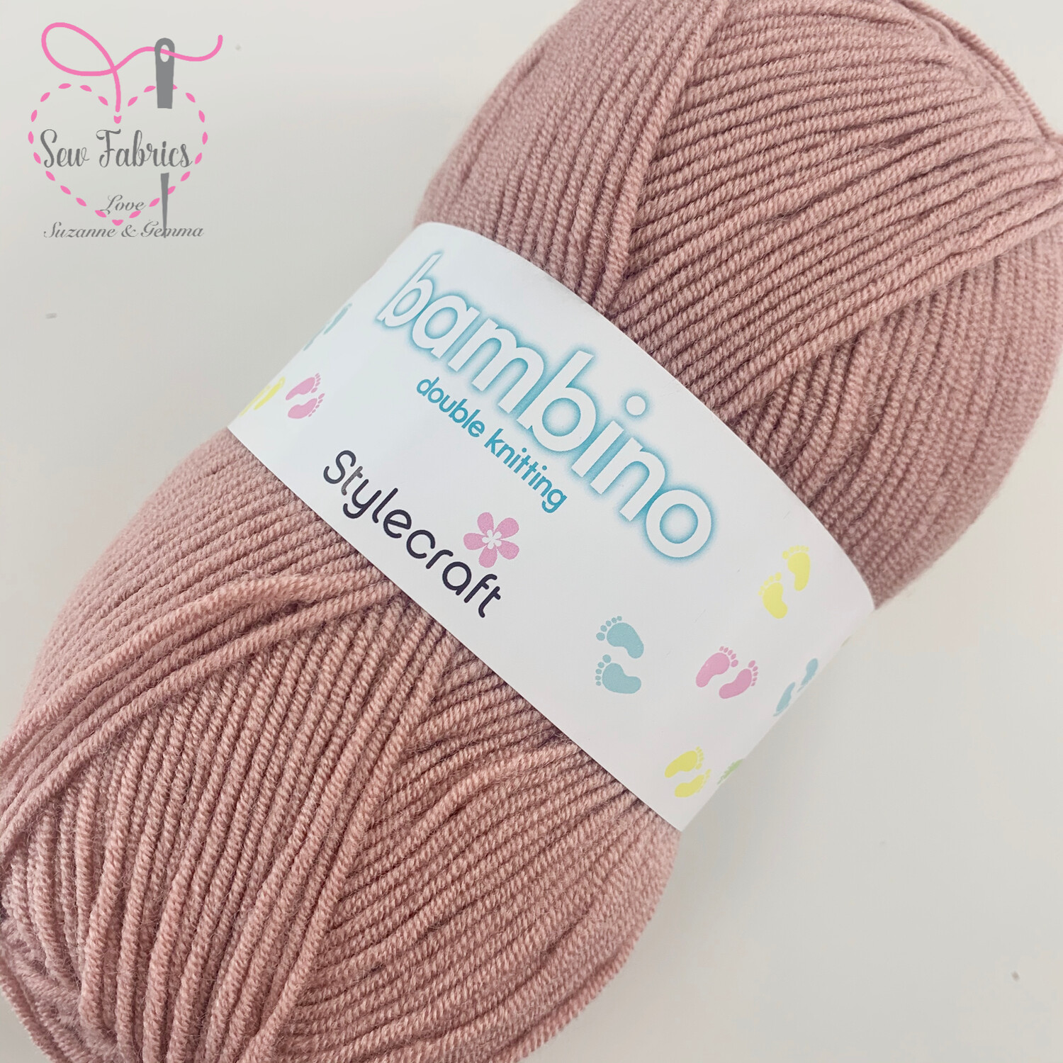 Stylecraft Bambino DK 100% Premium Acrylic Wool - Vintage Pink Yarn  Buy More Than 1 Ball & Get 30% Off With Code STYLE30