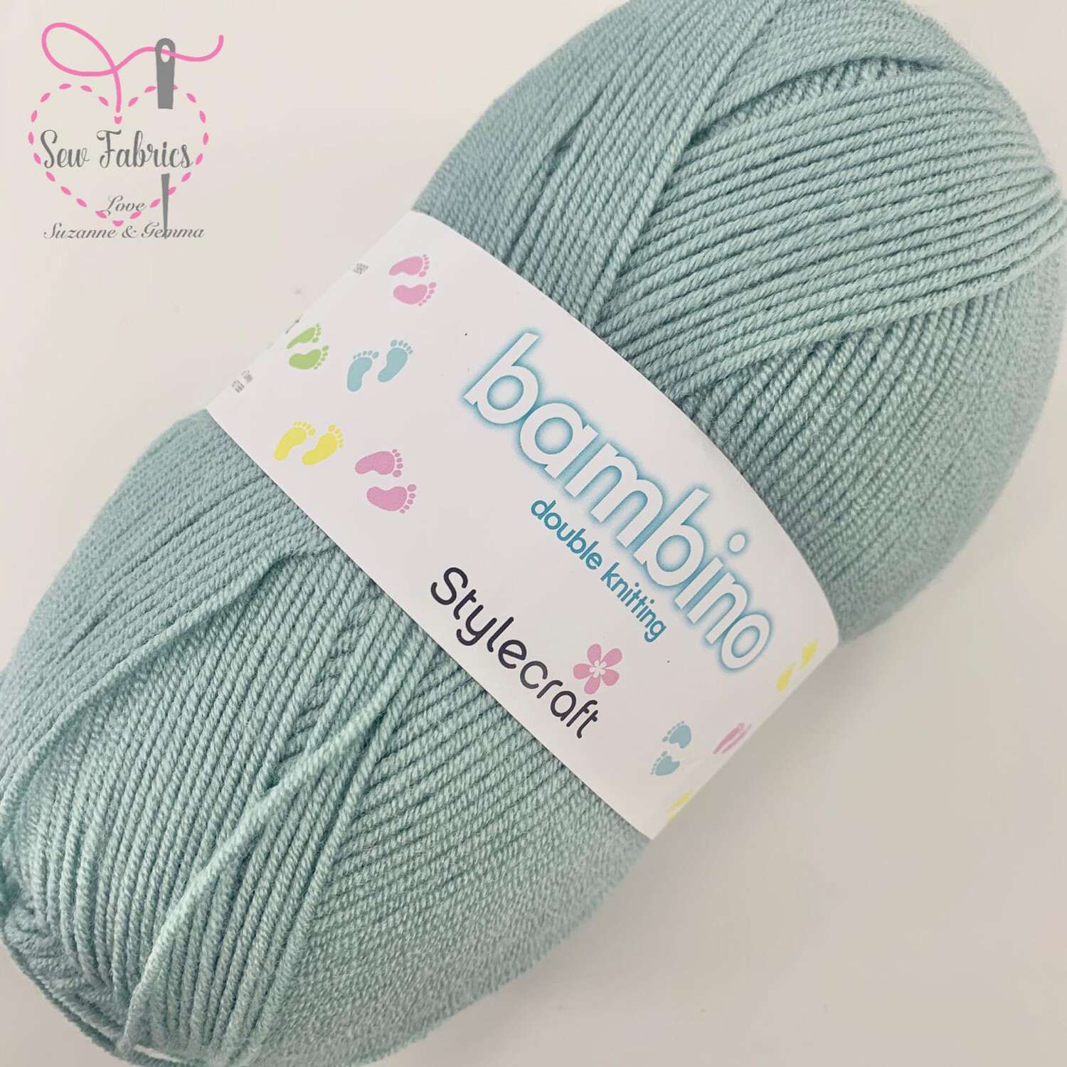 Stylecraft Bambino DK 100% Premium Acrylic Wool - Sage Green Yarn  Buy More Than 1 Ball & Get 30% Off With Code STYLE30