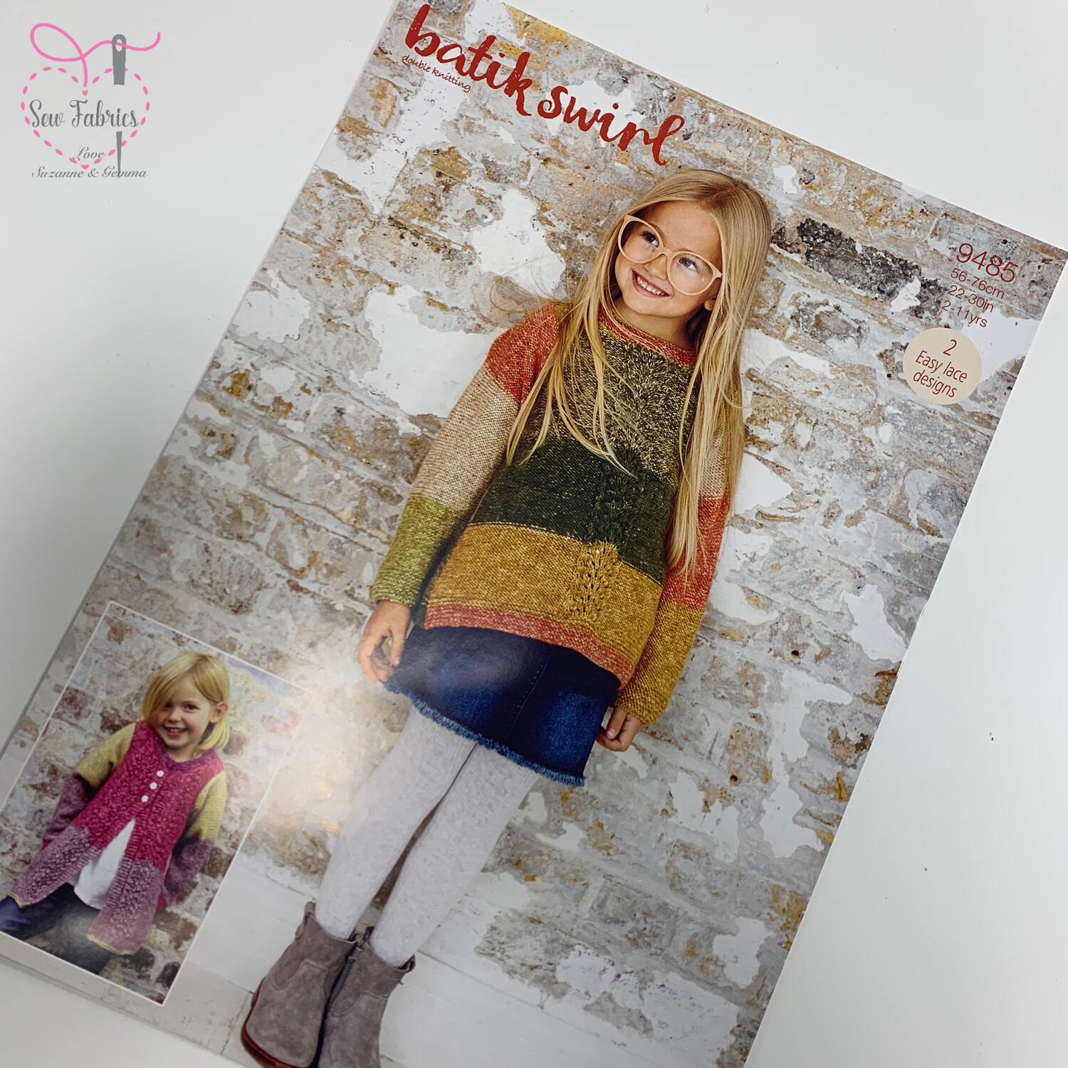 Kids Sweater and Hoodie Stylecraft Knitting Printed Pattern