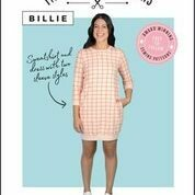 Billie Sweatshirt and Dress Printed Sewing Pattern by Tilly and The Buttons