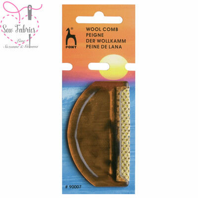 Pony Wool Comb, Lint Remover