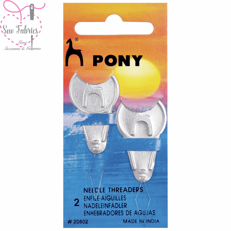 2 x Pony Needle Threaders