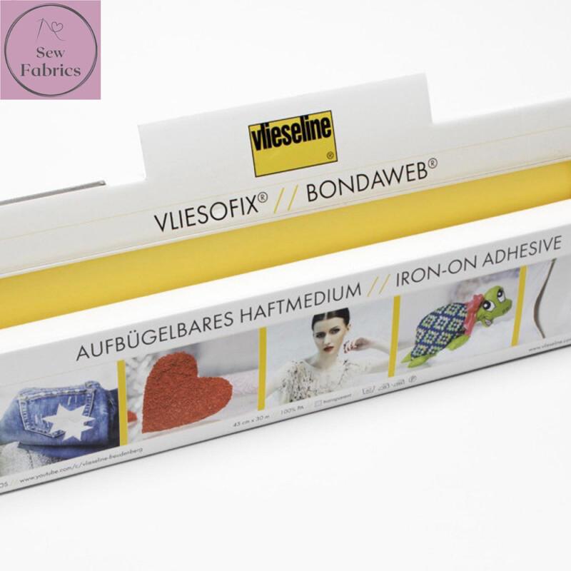 1m x Bondaweb Vliesofix by Vilene Vlieseline 45cm Wide, for applique, motif applications