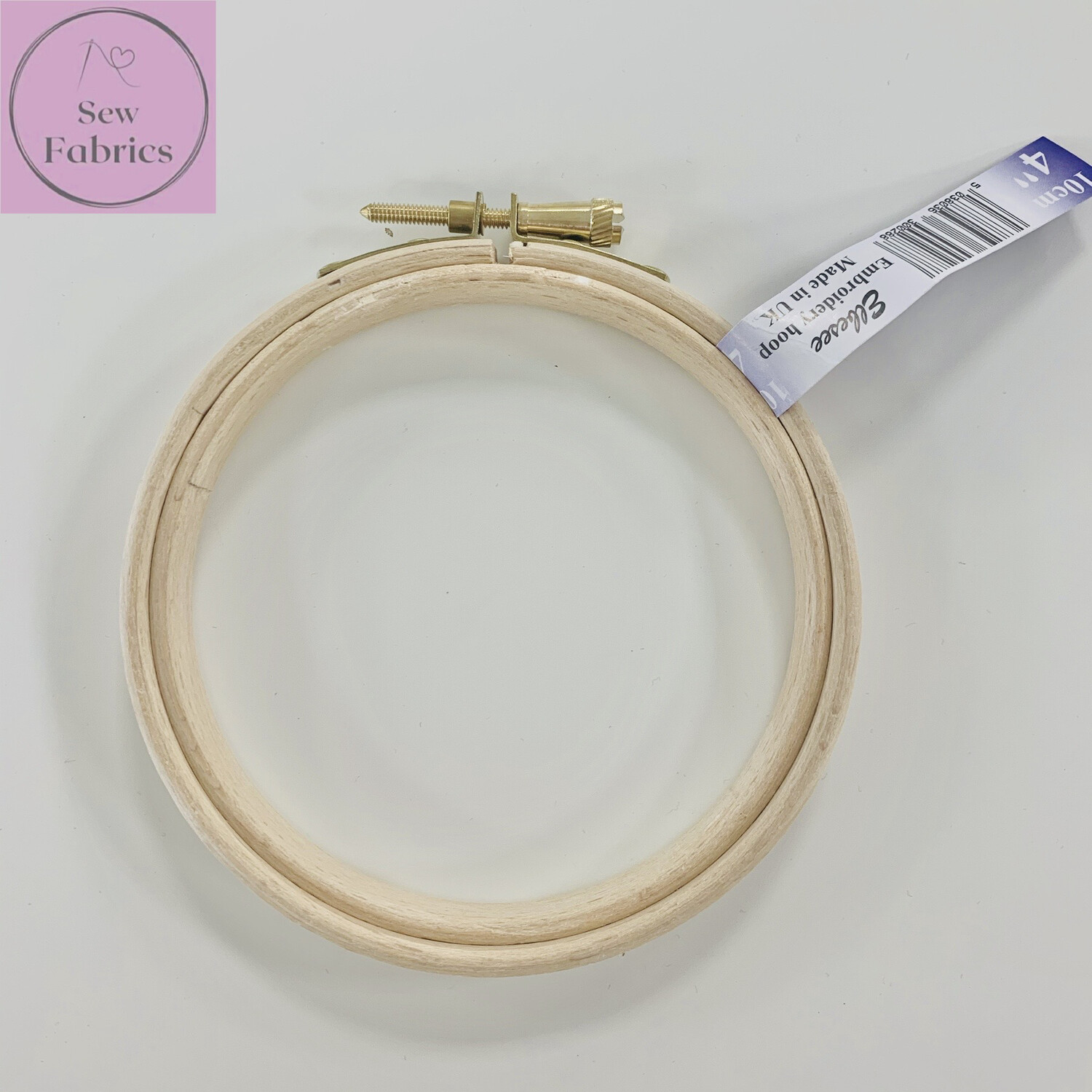 """4"""" Embroidery, Sewing Wooden Hoop"""