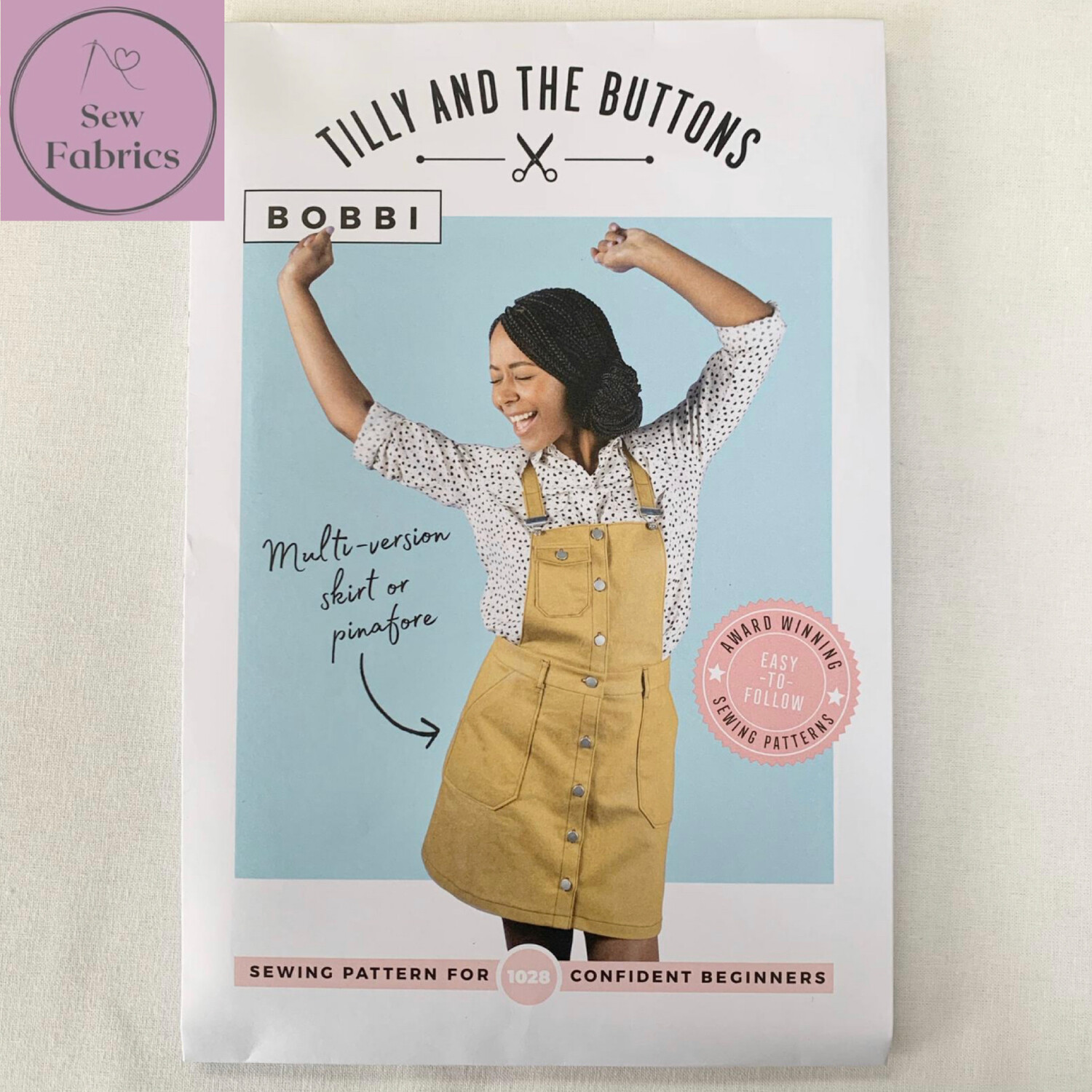 Bobbi Skirt and Pinafore Printed Sewing Pattern by Tilly and The Buttons