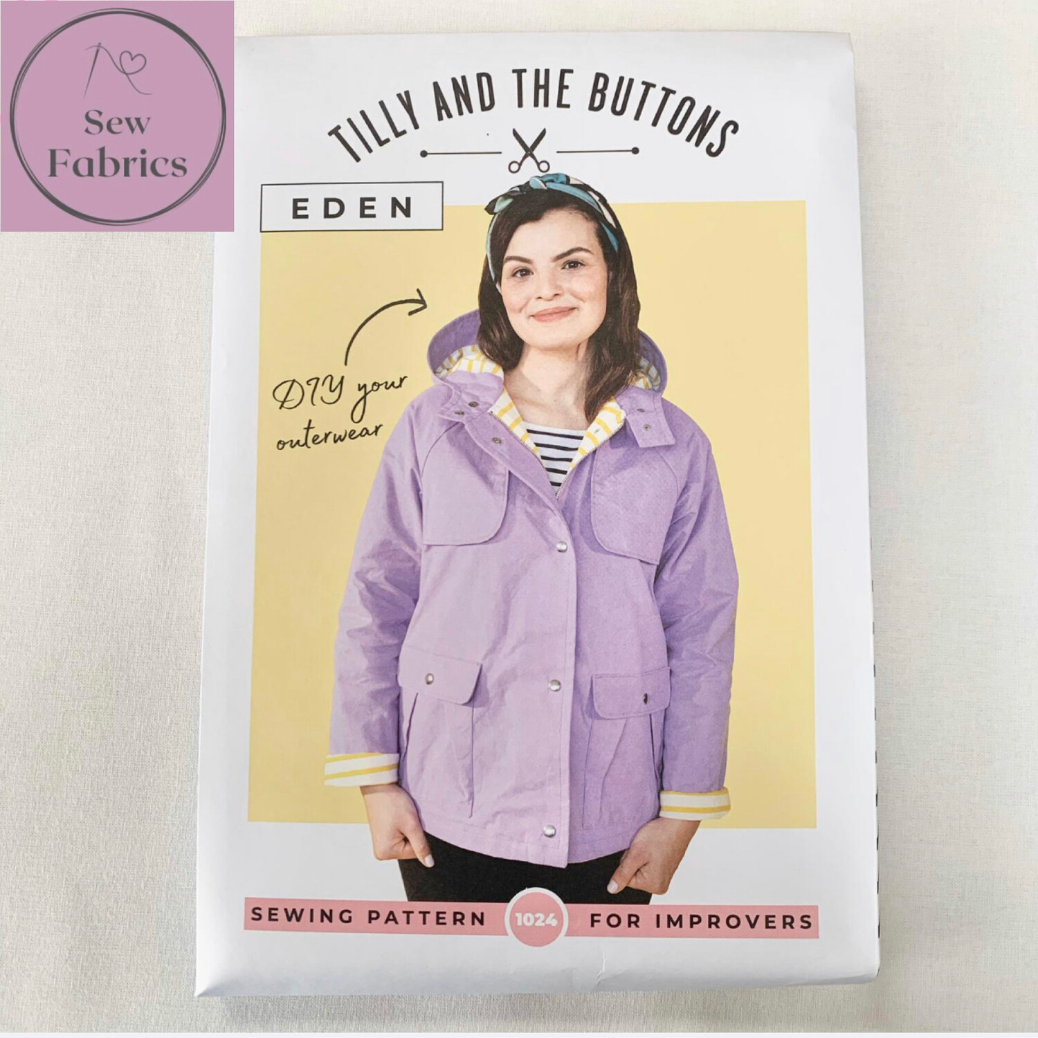 Eden Coat Printed Sewing Pattern by Tilly and The Buttons