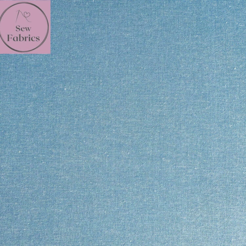 Denim Chambray Wide Width 100% Cotton Fabric