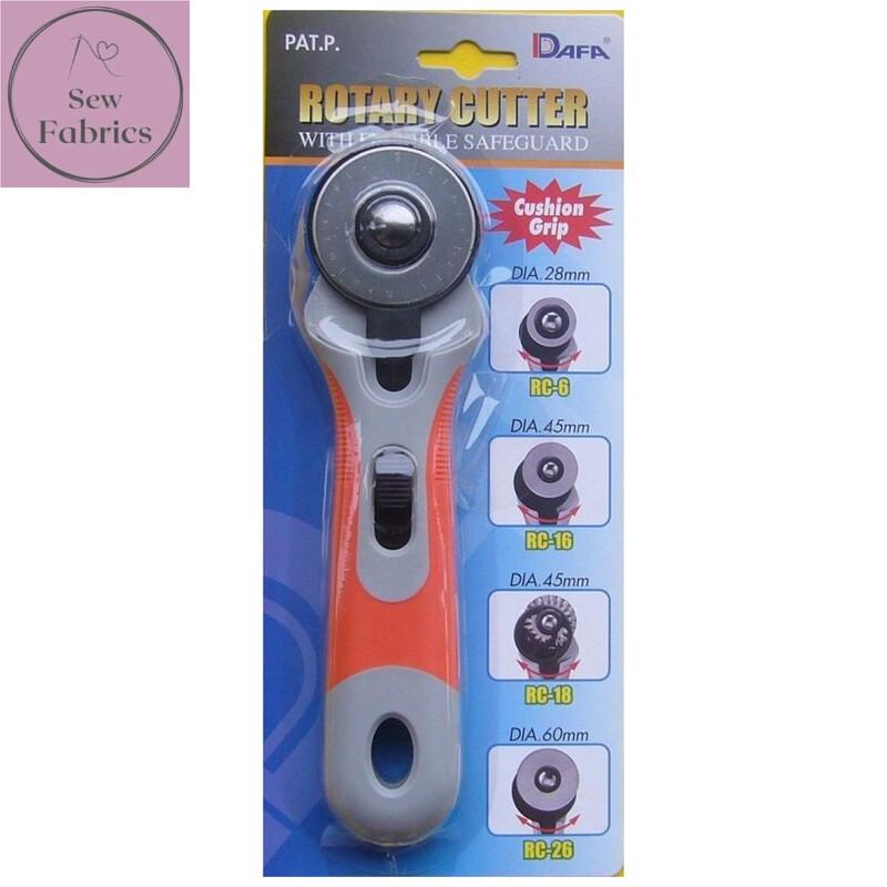 Dafa Soft Grip 45mm Rotary Cutter