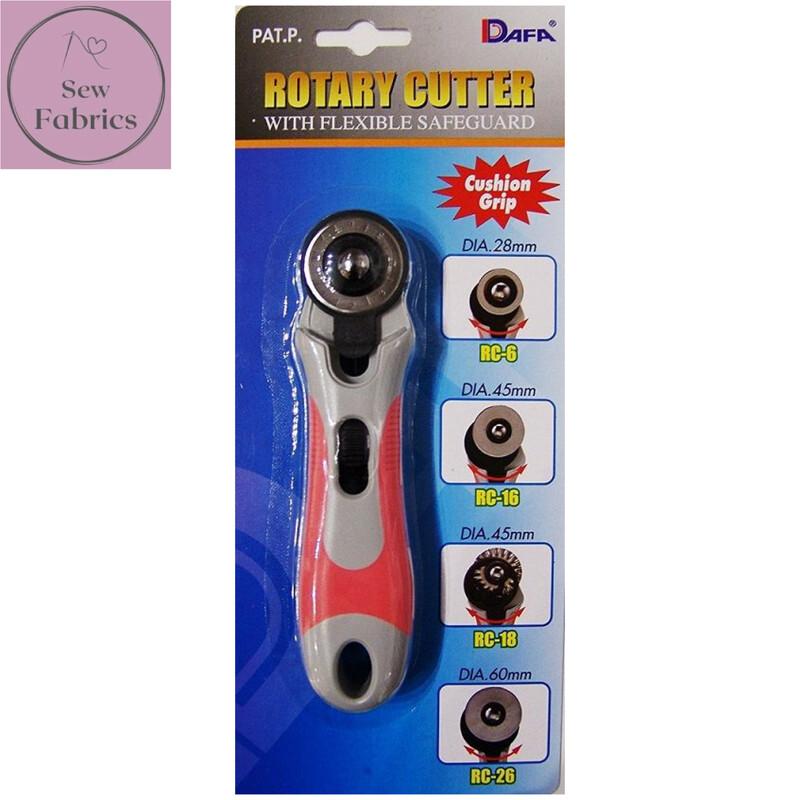 Dafa Soft Grip 28mm Rotary Cutter