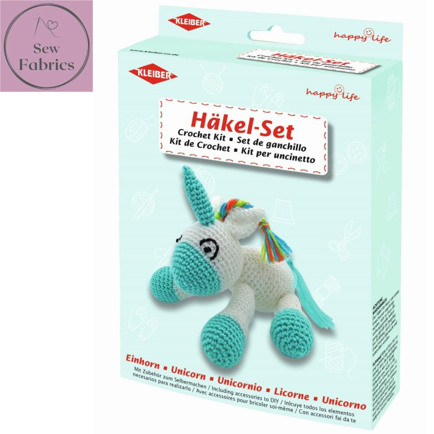 Unicorn Kleiber Crochet Toy Kit