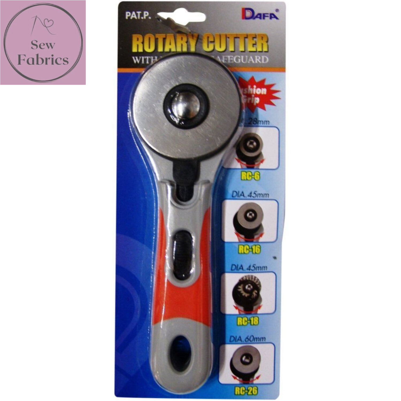 Dafa Soft Grip 60mm Rotary Cutter