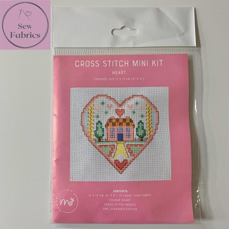 Heart My Cross Stitch Mini Kit 6