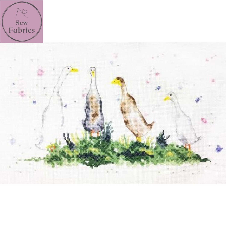 Gaggle of Geese, My Cross Stitch - Charlotte Rennie Cross Stitch Kit