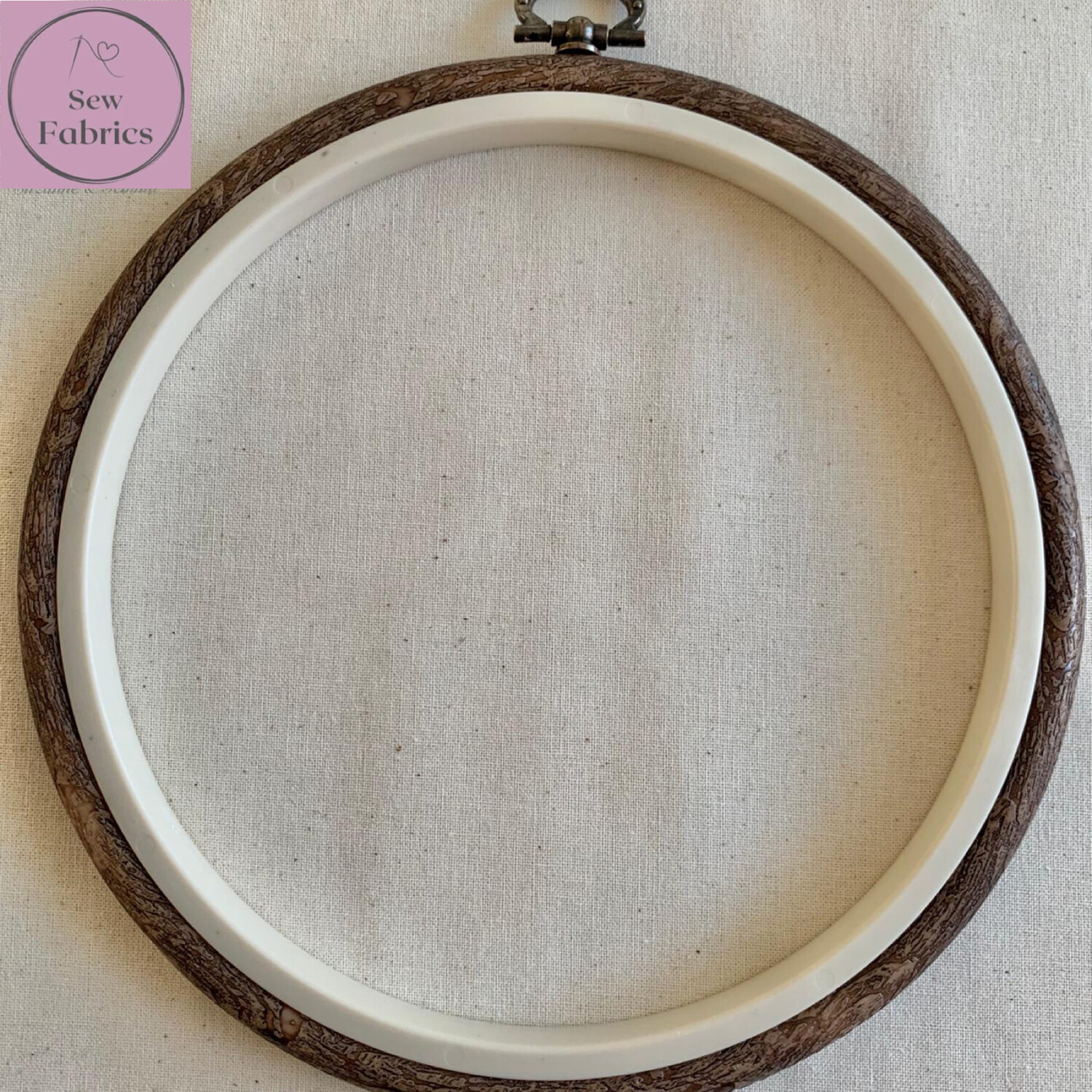 """Nurge 7""""/17cm Flexi Hoop for Patchwork/Quilting, Embroidery, Sewing"""