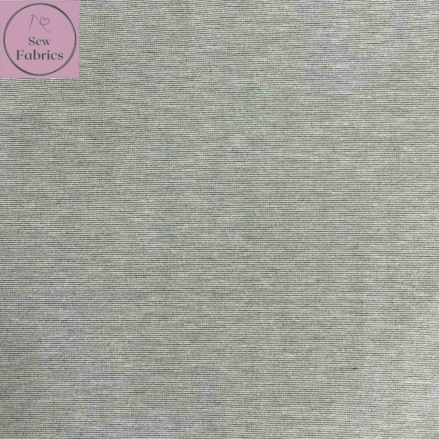 Light Grey Ponte Roma Solid Jersey Fabric