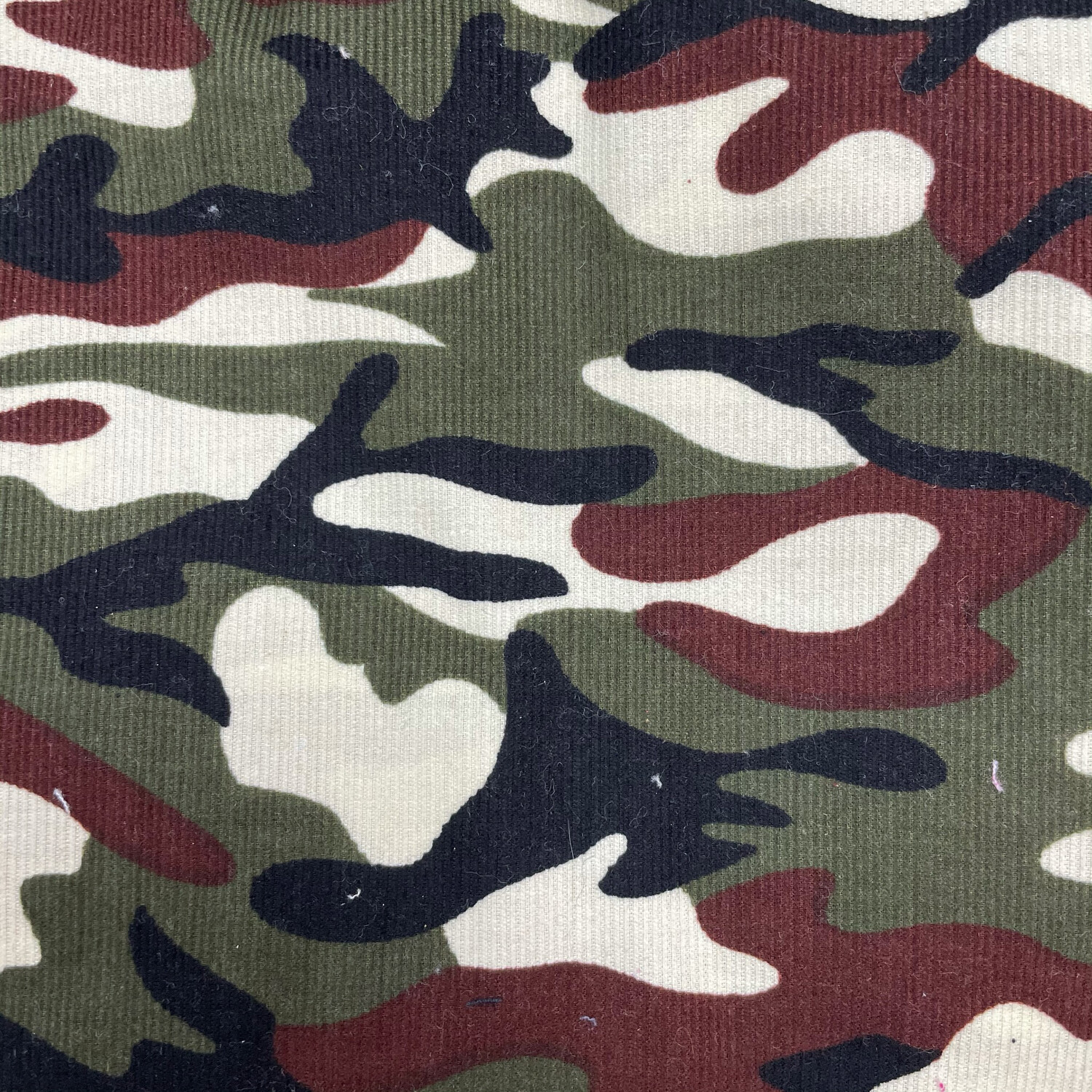 Seconds Camouflage Needlecord