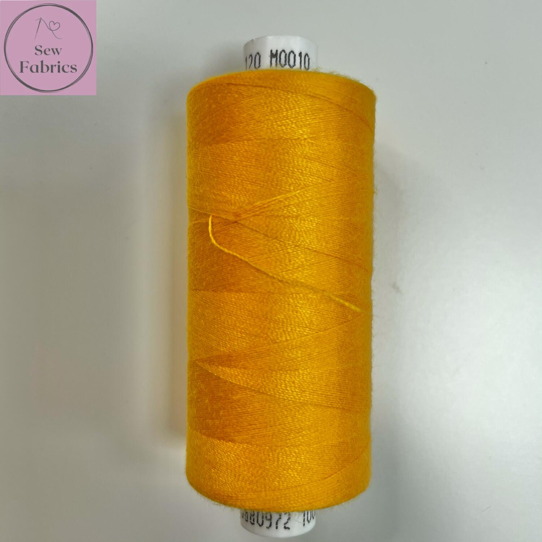 1 x 1000y Coats Moon Thread - Deep Gold M010