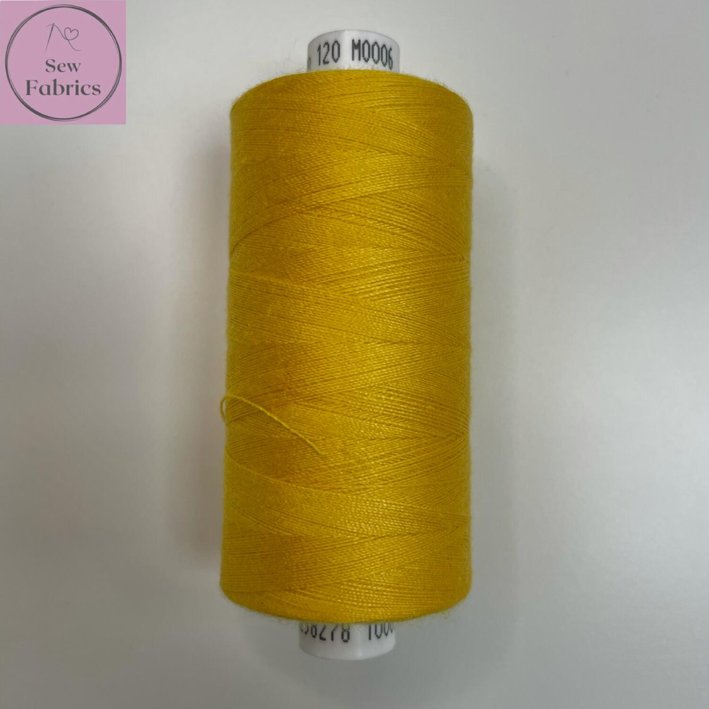1 x 1000y Coats Moon Thread - Gold M006