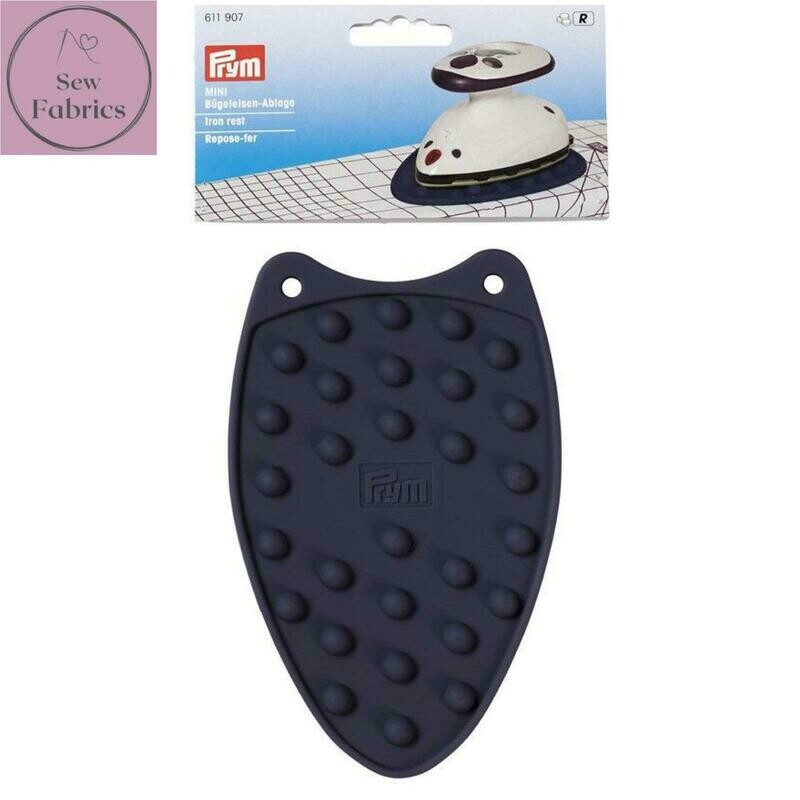 Prym Mini Silicone Iron Rest, Sewing, Dressmaking, Quilting Accessory, Violet