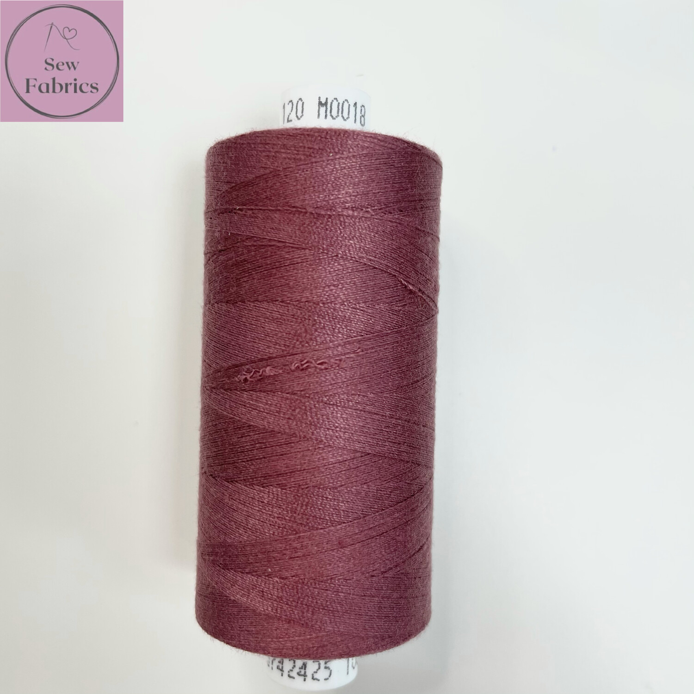 1 x 1000y Coats Moon Thread - Grape M018