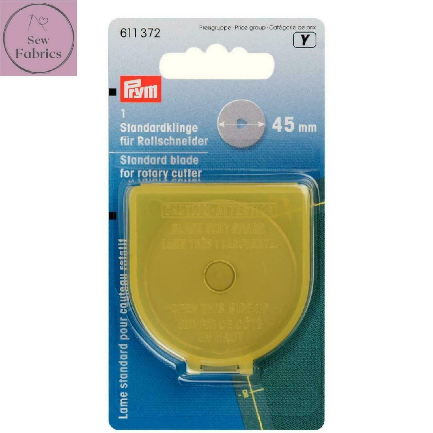 Prym Love 45mm Rotary Cutter Spare Blade
