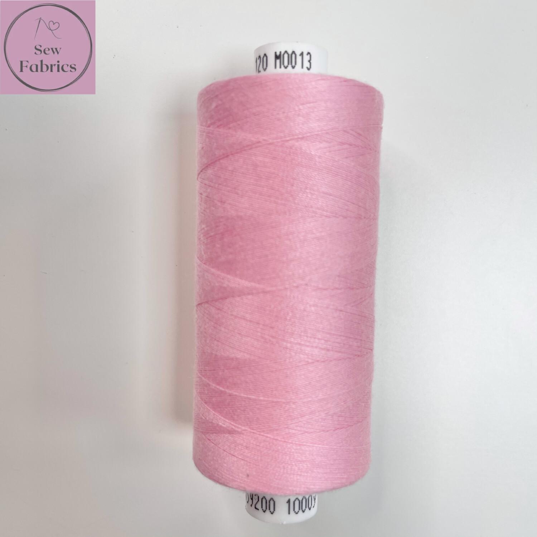 1 x 1000y Coats Moon Thread - Pale Pink M013