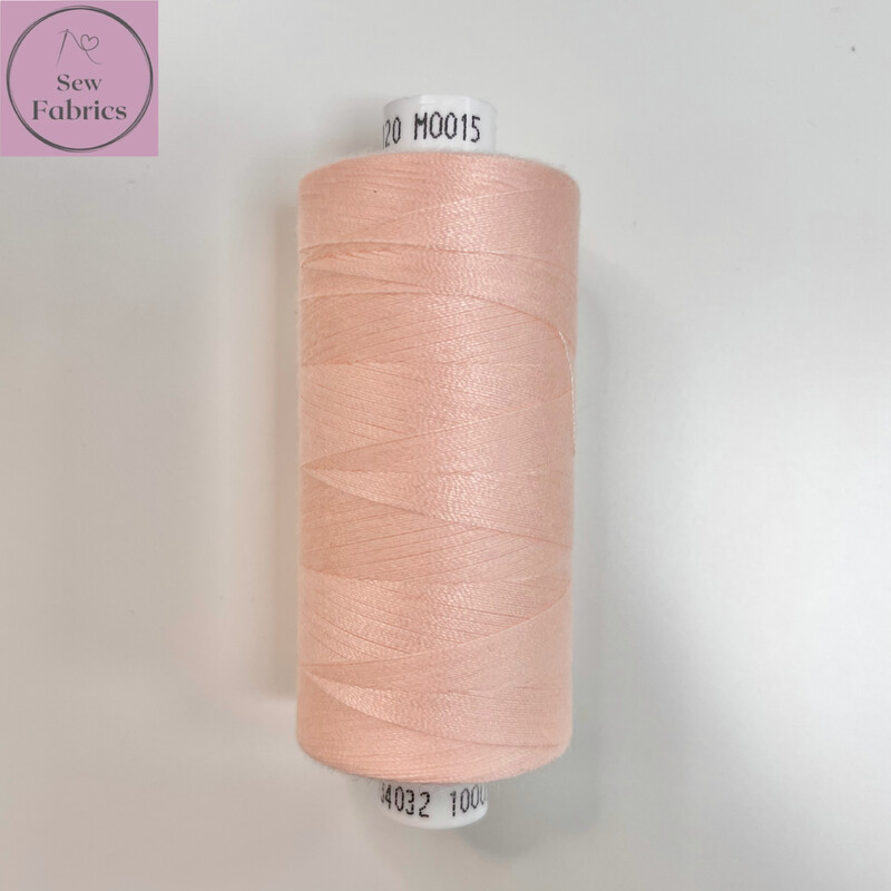 1 x 1000y Coats Moon Thread - Ballet Pink M015