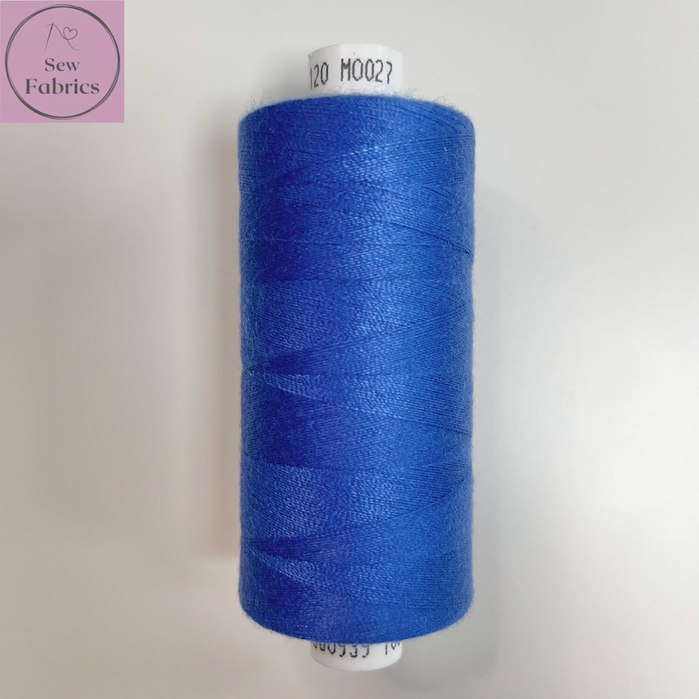 1 x 1000y Coats Moon Thread - Denim Blue M027