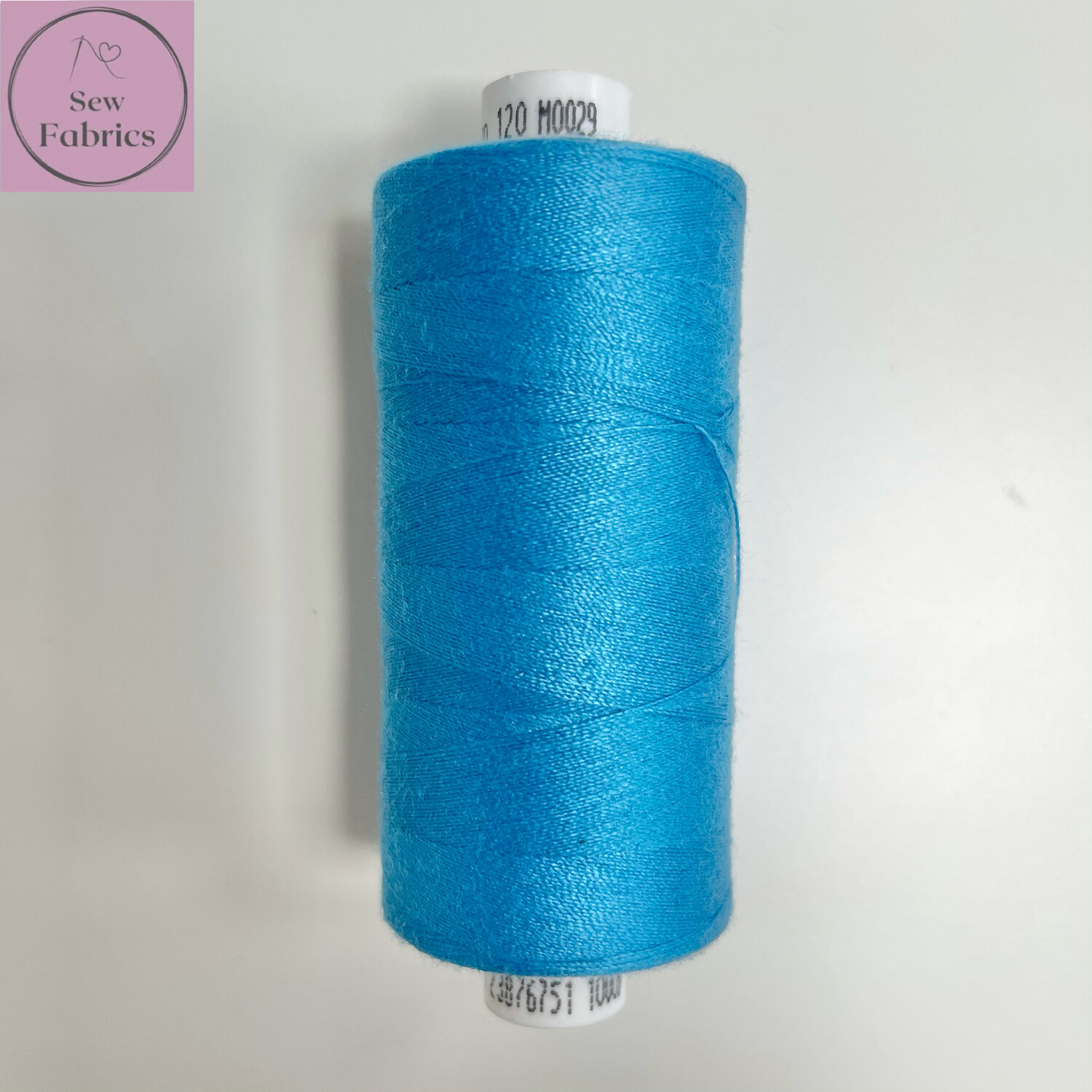 1 x 1000y Coats Moon Thread - Turquoise Blue M029