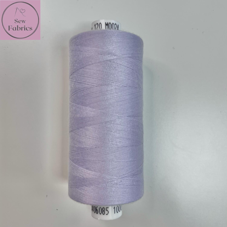 1 x 1000y Coats Moon Thread - Lilac M024