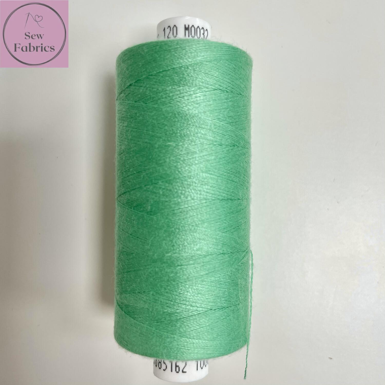 1 x 1000y Coats Moon Thread - Seafoam M032