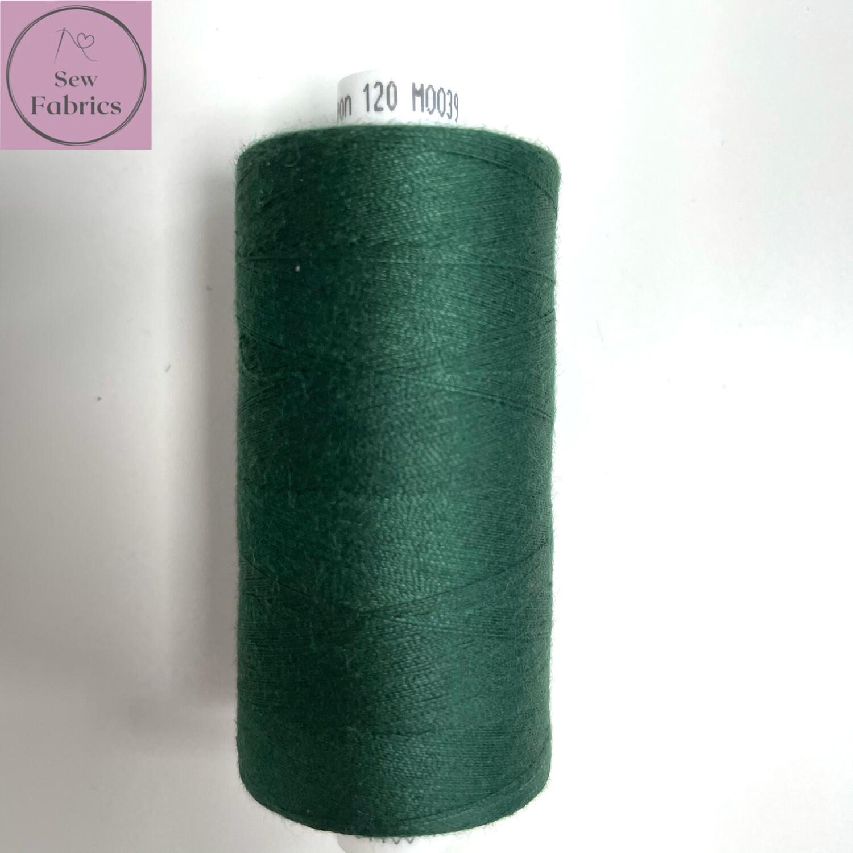 1 x 1000y Coats Moon Thread - Deep Green M039