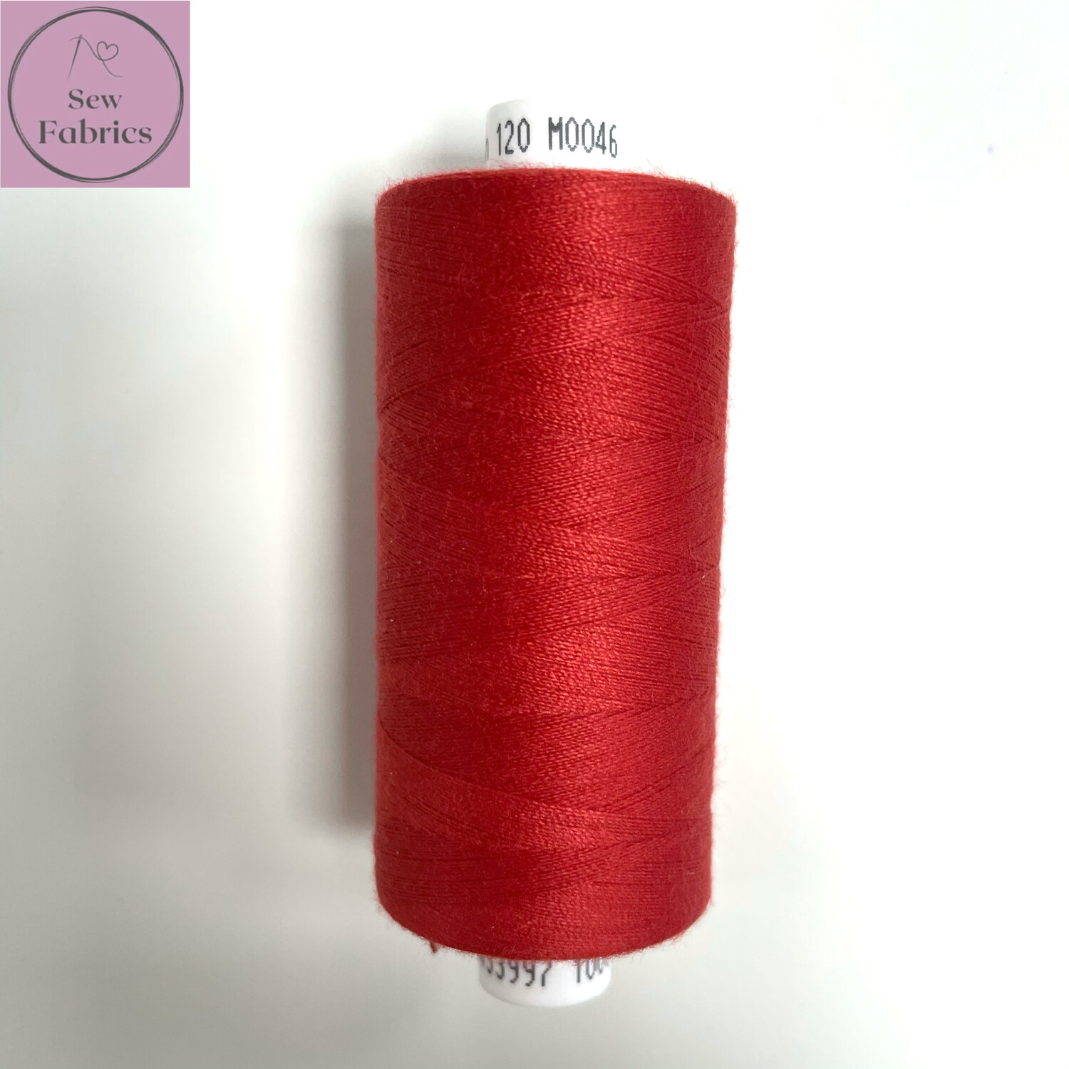 1 x 1000y Coats Moon Thread - Scarlet Red M046