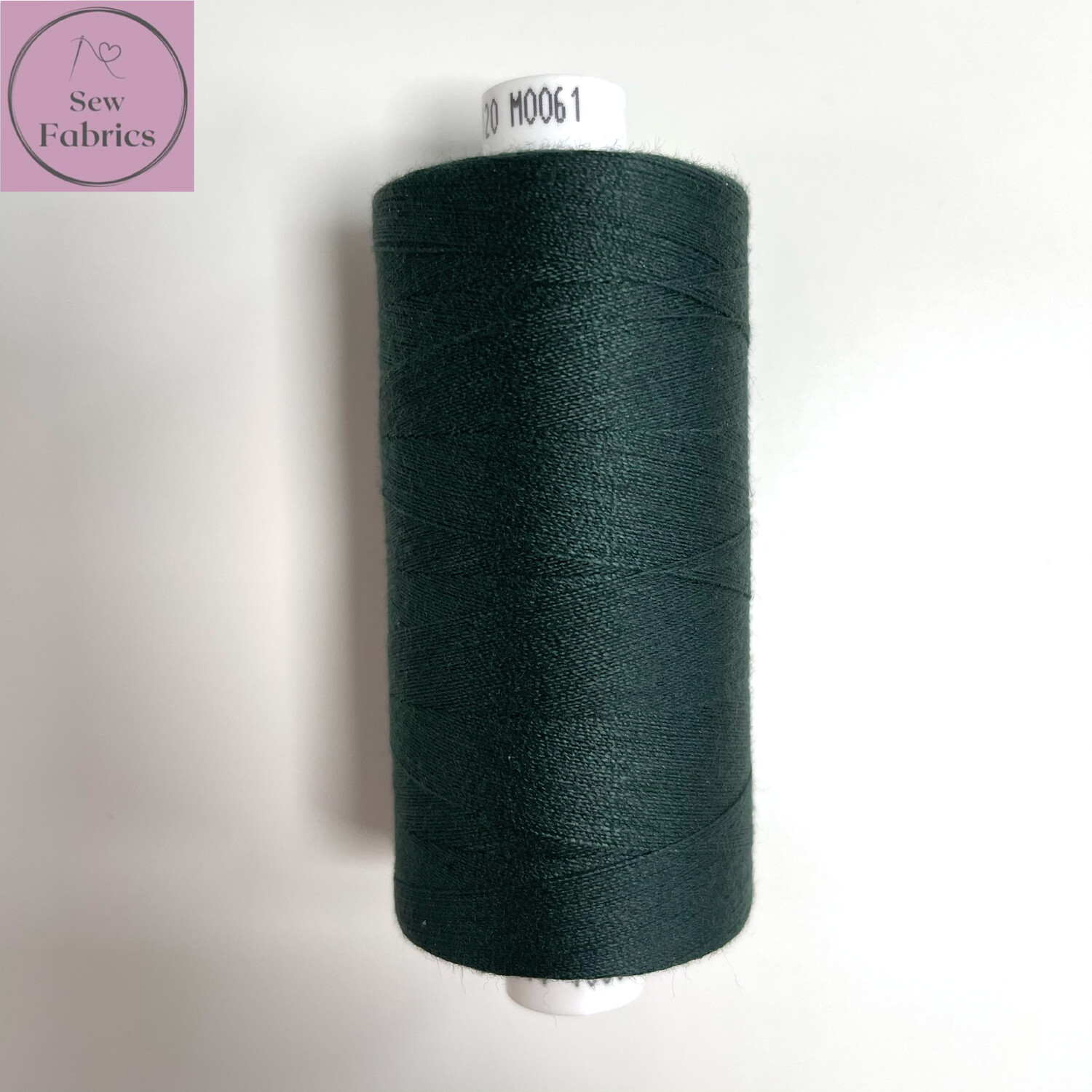 1 x 1000y Coats Moon Thread - Dark Green M061