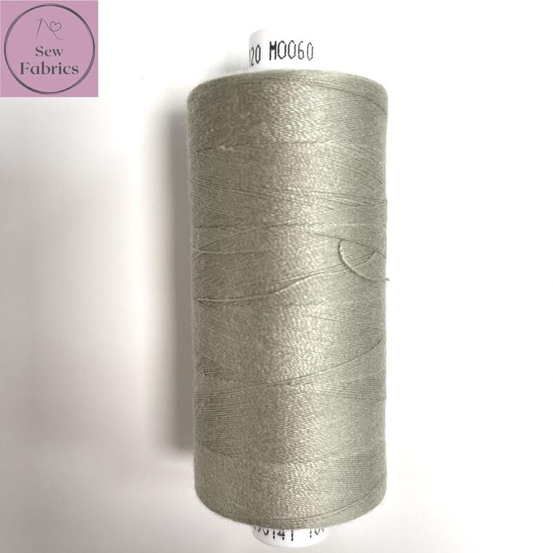 1 x 1000y Coats Moon Thread -  Mole M060