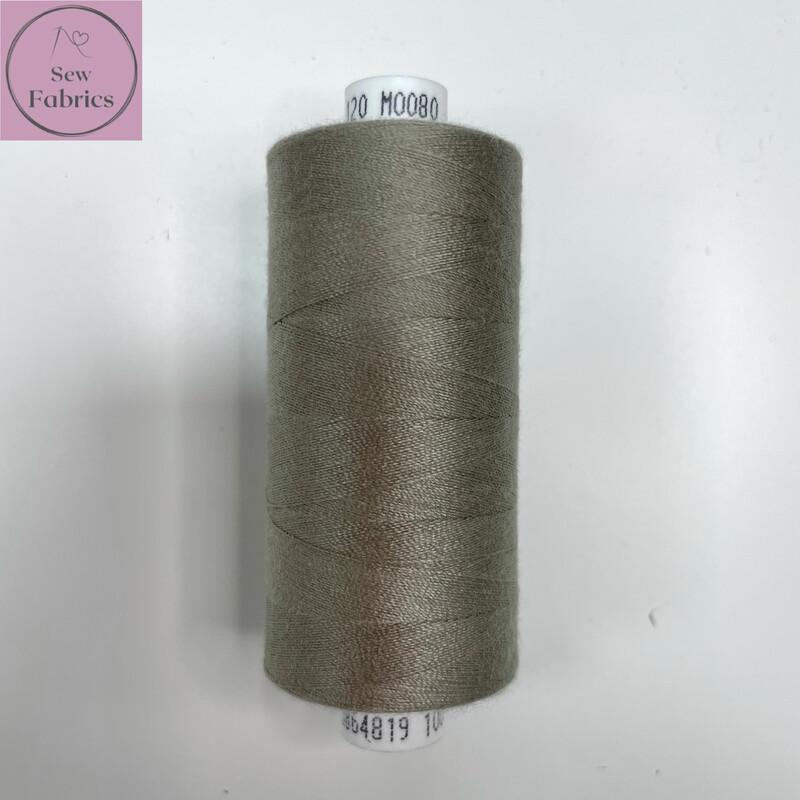 1 x 1000y Coats Moon Thread in Grey M080