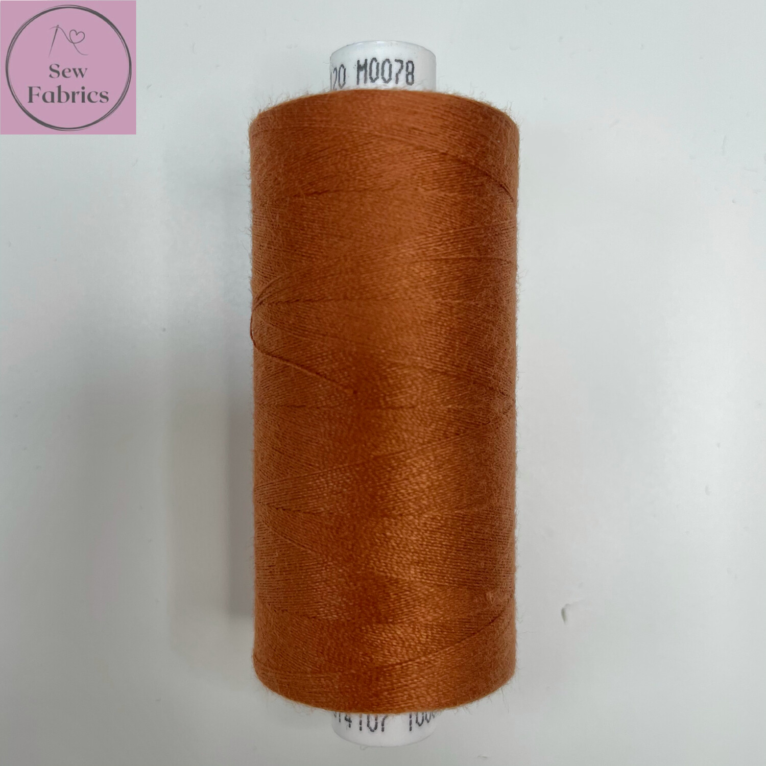 1 x 1000y Coats Moon Thread in Rust M078