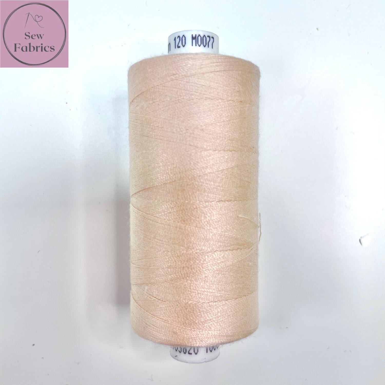 1 x 1000y Coats Moon Thread in Peach Pearl M077
