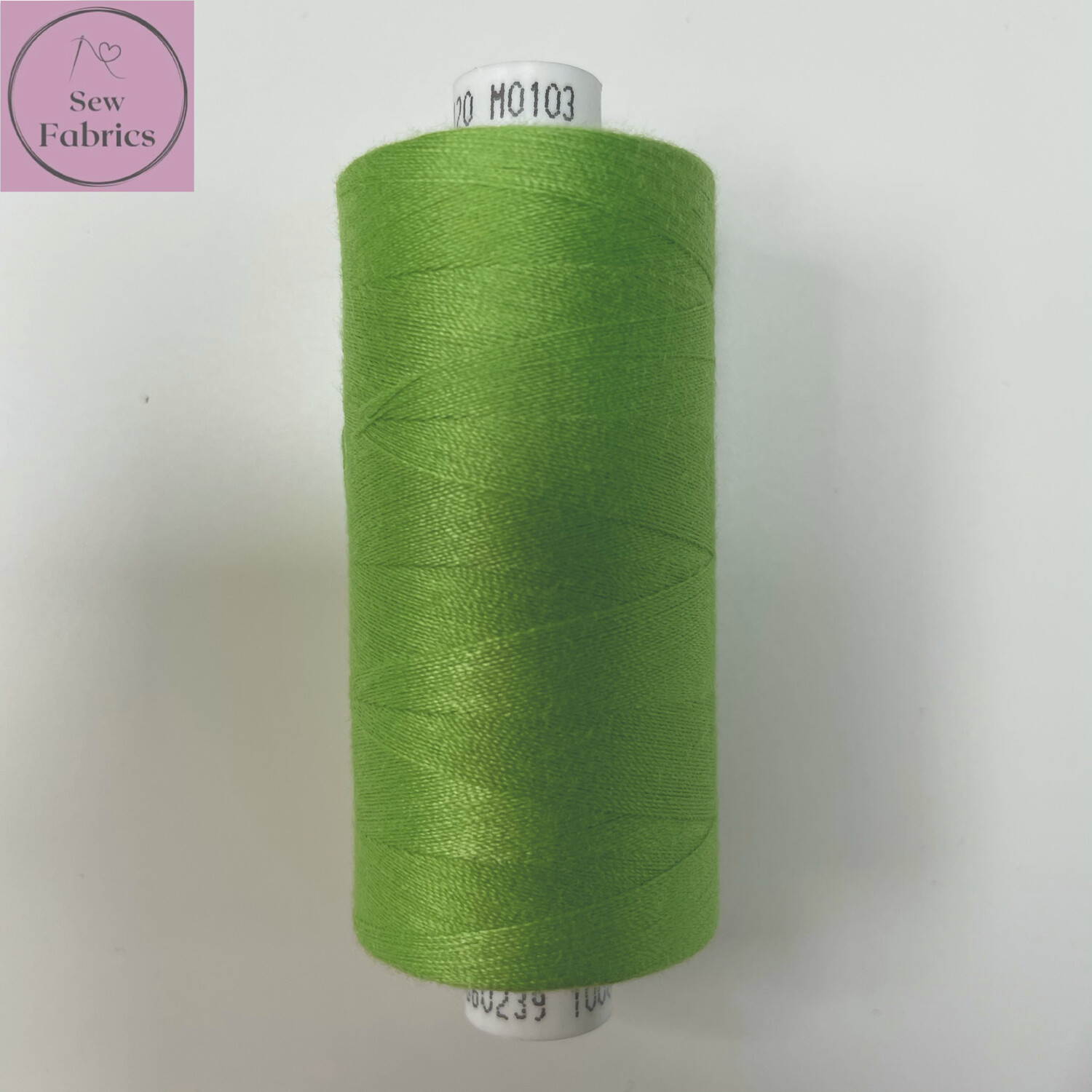 1 x 1000y Coats Moon Thread - Green M103