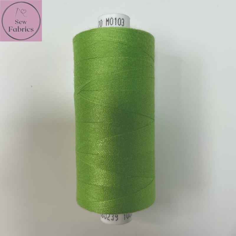 1 x 1000y Coats Moon Thread - Green M103