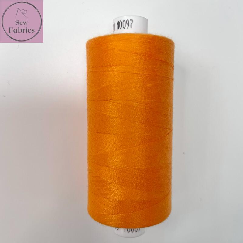 1 x 1000y Coats Moon Thread - Orange M097