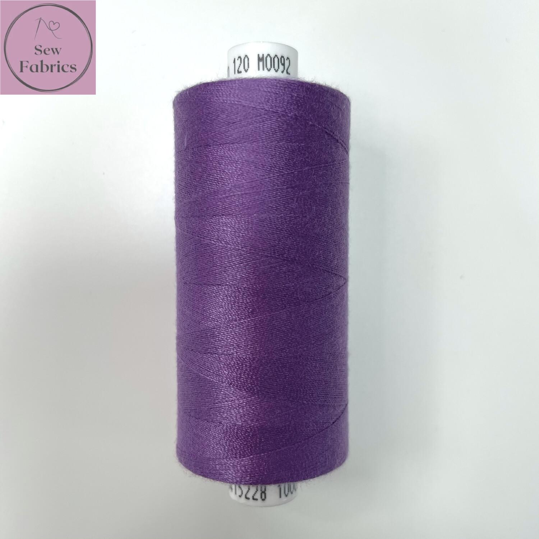 1 x 1000y Coats Moon Thread - Amethyst M092
