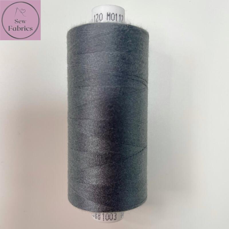 1 x 1000y Coats Moon Thread - Grey M112