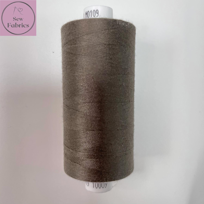 1 x 1000y Coats Moon Thread - Brown M109