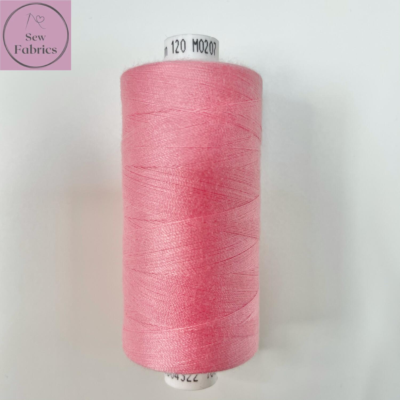 1 x 1000y Coats Moon Thread - Sugar Pink M207