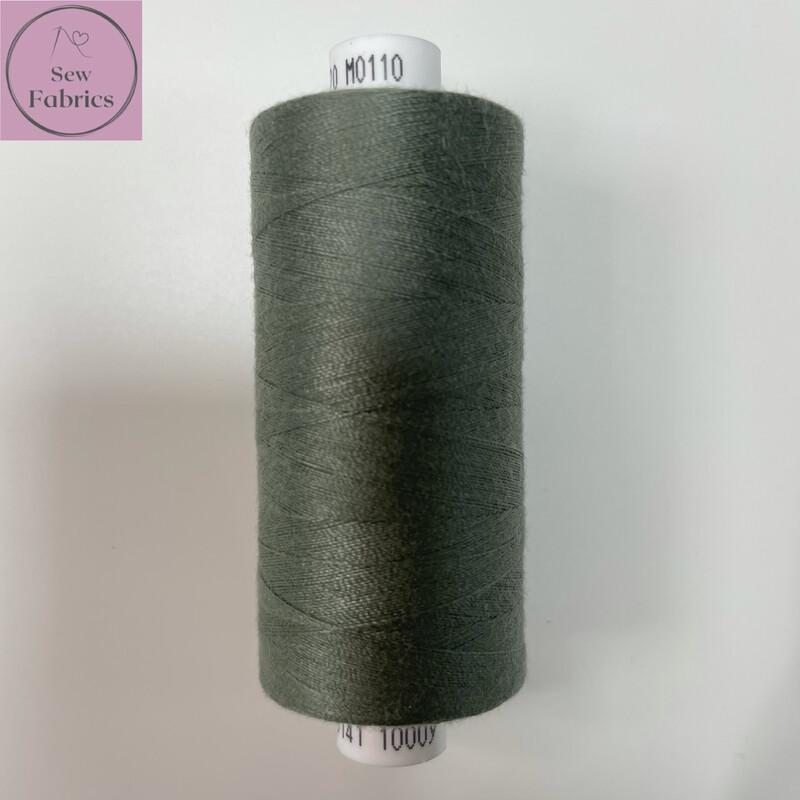 1 x 1000y Coats Moon Thread - Grey M110