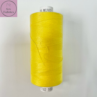 1 x 1000y Coats Moon Thread - Daffodil M202
